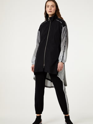 Куртка чорно-сіра | 5441443