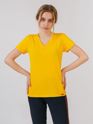 Футболка желтого цвета | 5455506