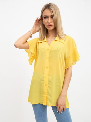 Рубашка желтая | 5456523