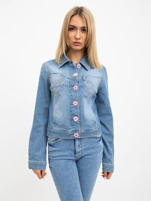 Куртка голубая | 5456537