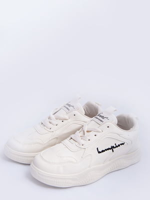 Кросівки молочно-чорні | 5456563