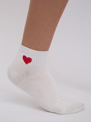 Шкарпетки молочного кольору | 5456574