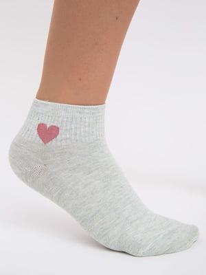 Шкарпетки м'ятного кольору | 5456575