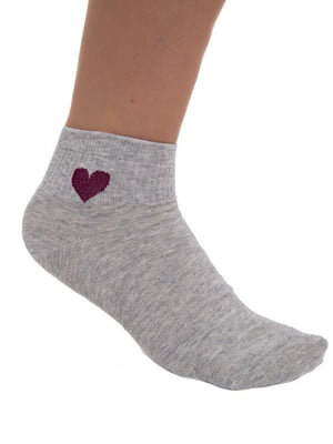 Шкарпетки сірі | 5456576