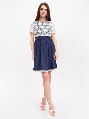Платье синее | 5456602