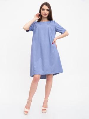 Платье джинсового цвета | 5456606