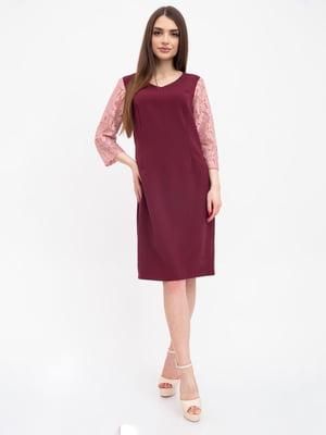 Сукня бордова | 5456607
