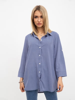 Рубашка сине-белая | 5456610