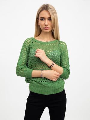 Джемпер зеленый | 5456624