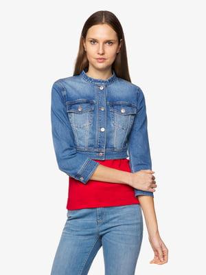 Куртка синяя джинсовая | 5456346