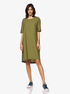 Платье цвета хаки | 5456444