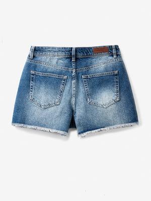 Шорты синие джинсовые | 5456475