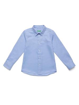 Рубашка голубая | 5320874