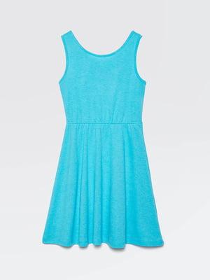 Платье голубое | 5371467