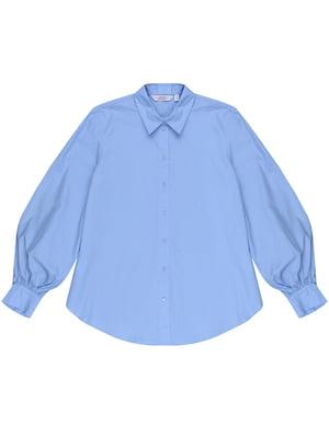 Рубашка голубая | 5450072