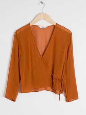 Блуза коричнева | 5450199