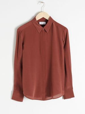 Блуза коричневая | 5450596