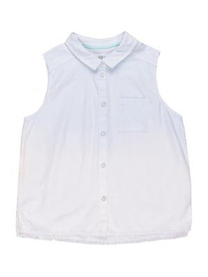 Рубашка голубая | 5428136