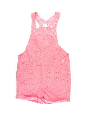 Комбинезон розовый | 5435089