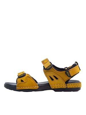 Сандалії жовті | 5458631
