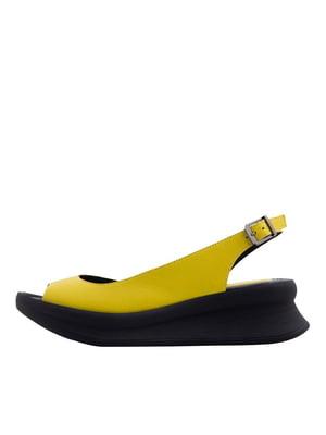 Босоніжки жовті | 5458667