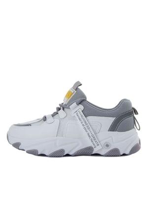 Кросівки біло-сірі | 5458704