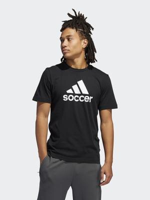 Футболка черная в принт   5360186