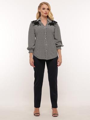 Блуза с узором | 5460185