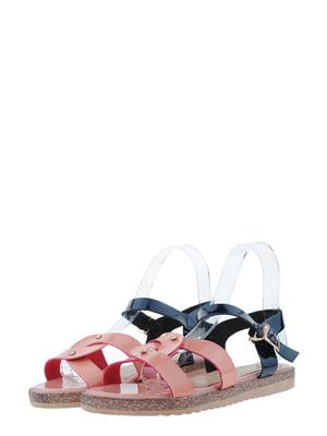 Сандалии розово-синие | 5435823