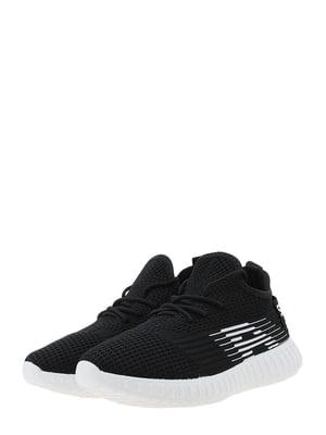 Кроссовки черно-белые | 5446983