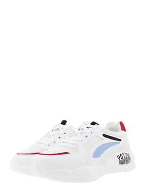 Кроссовки бело-черные | 5454455