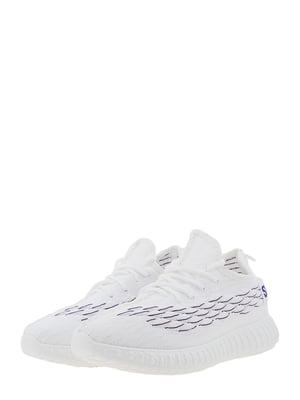 Кроссовки бело-сиреневые | 5454456