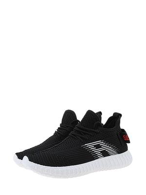 Кроссовки черно-красные | 5454473