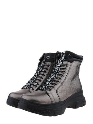 Ботинки бронзового цвета | 5460227