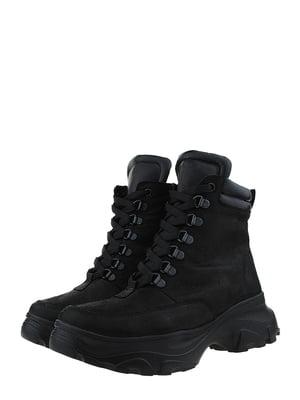 Ботинки черные   5460228