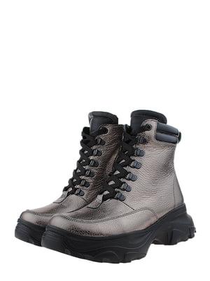 Ботинки бронзового цвета | 5460229