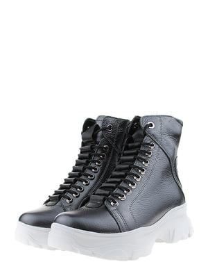Ботинки графитового цвета   5460232