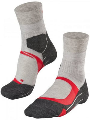 Носки серые в полоску | 5460285