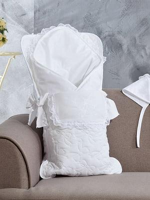 Набор для выписки: чепчик, одеяло и конверт | 5458387