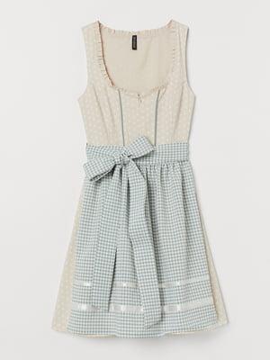 Комплект: платье и передник   5461146