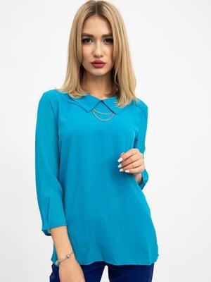 Блуза бирюзового цвета | 5461667