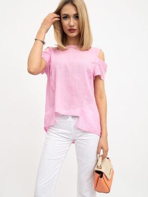 Блуза розовая | 5461673