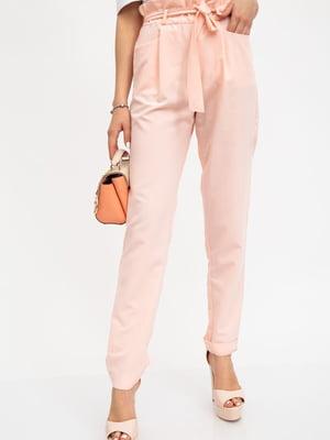Брюки персикового цвета | 5461683