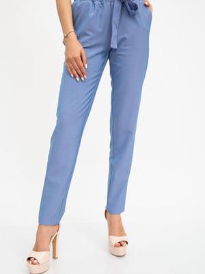 Брюки цвета джинс | 5461694