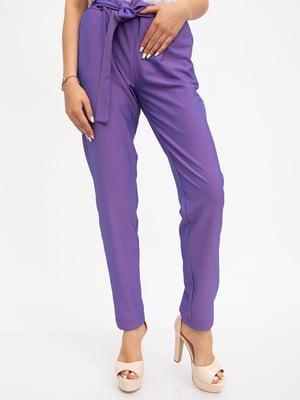 Брюки фиолетовые | 5461697