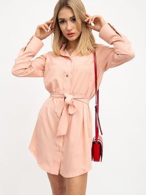 Платье персикового цвета | 5461810
