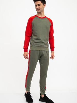 Костюм спортивный: свитшот и брюки | 5461834