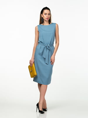 Платье голубое   5461927