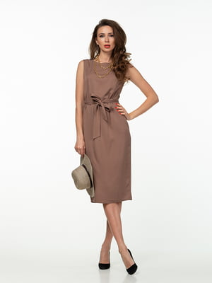 Платье коричневое | 5461928