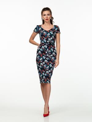 Сукня в квітковий принт   5461939